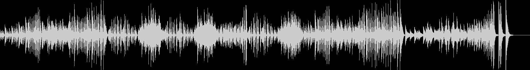 ピアノ連弾 ドリー 「ミアウ」/フォーレの未再生の波形