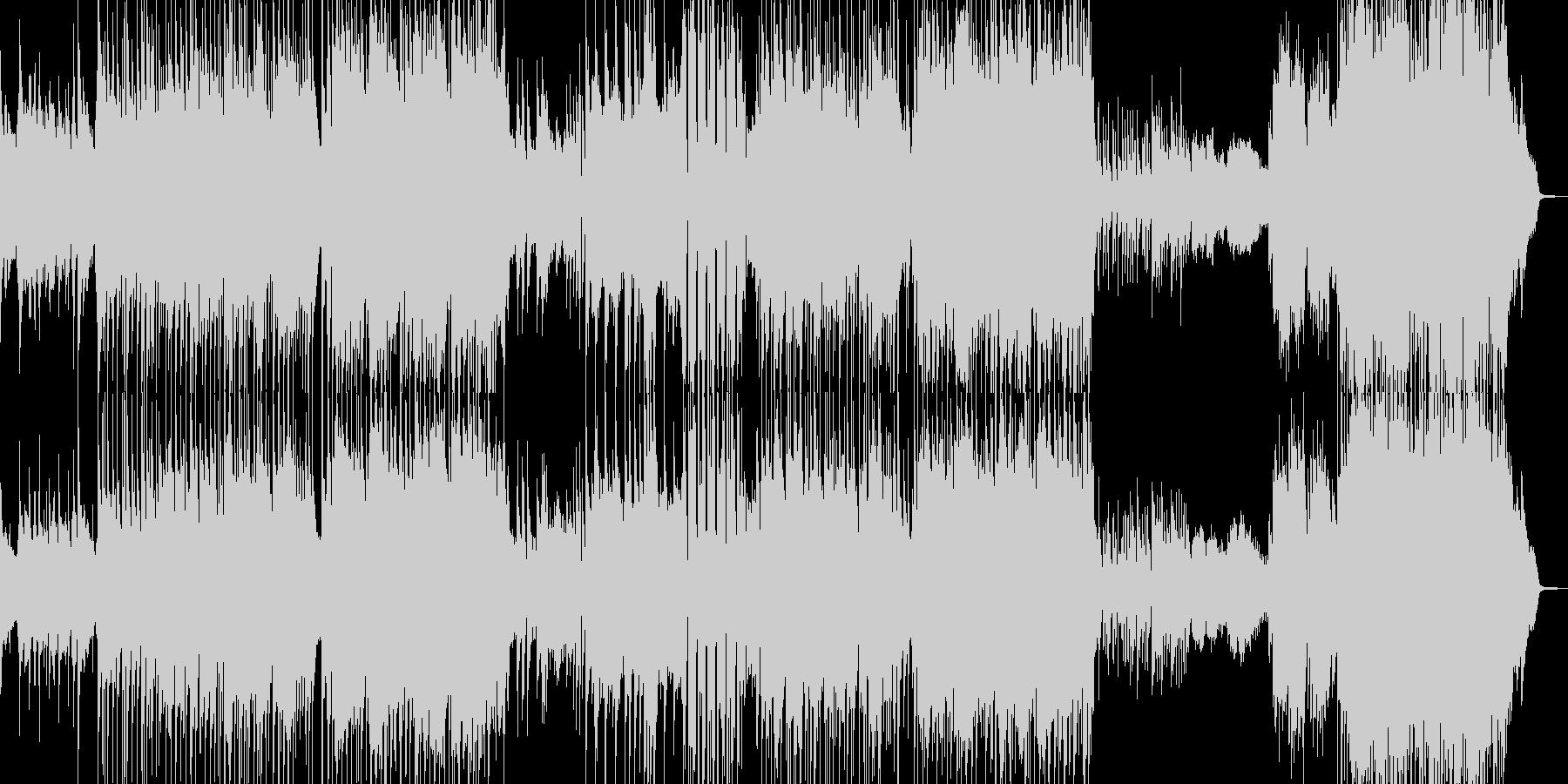 ラストが劇的・90年代風バラード 長尺の未再生の波形