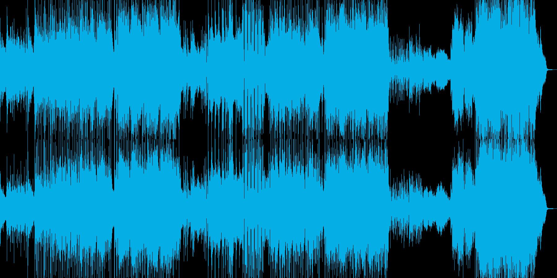 ラストが劇的・90年代風バラード 長尺の再生済みの波形