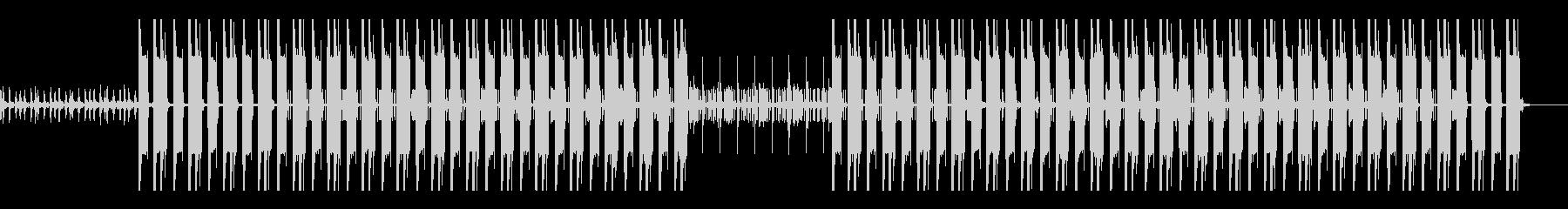 ヒップホップ 重低音 ダブ ステップの未再生の波形