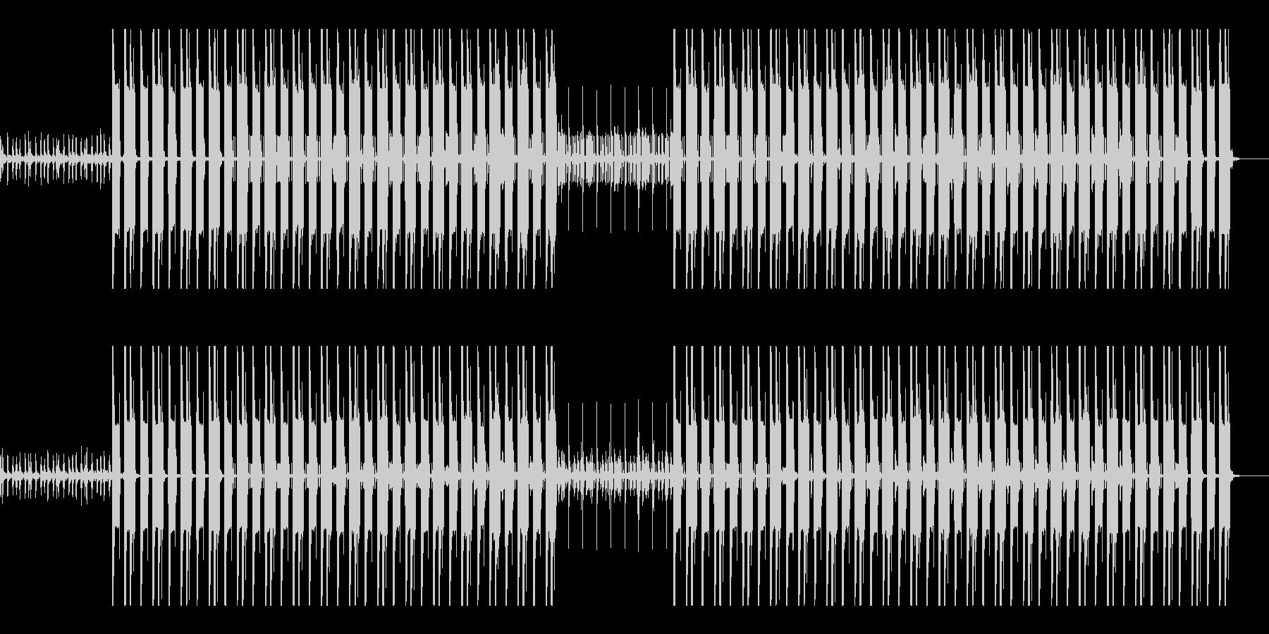 ヒップホップ 重低音 ウーファー の未再生の波形