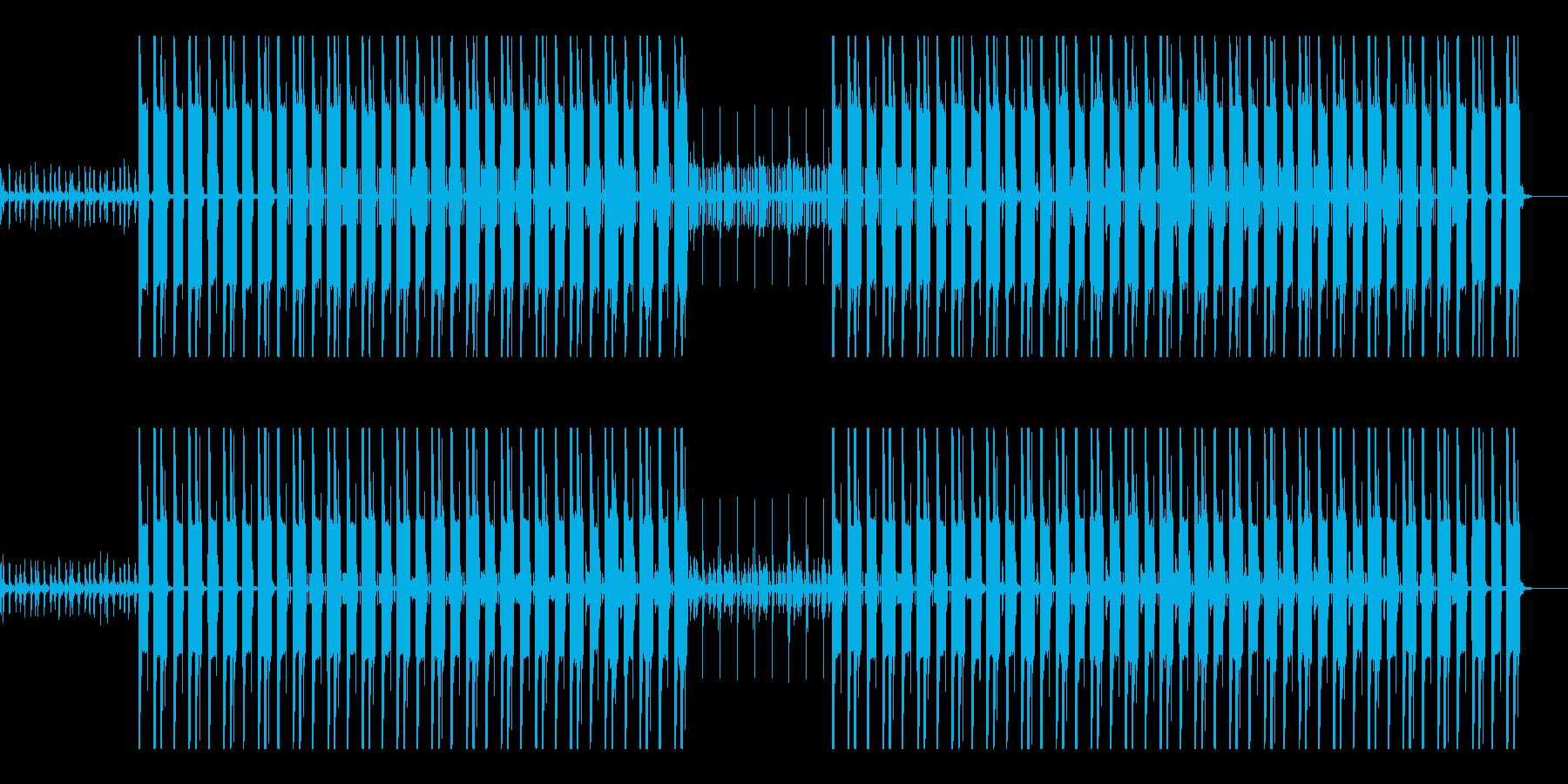 ヒップホップ 重低音 ウーファー の再生済みの波形