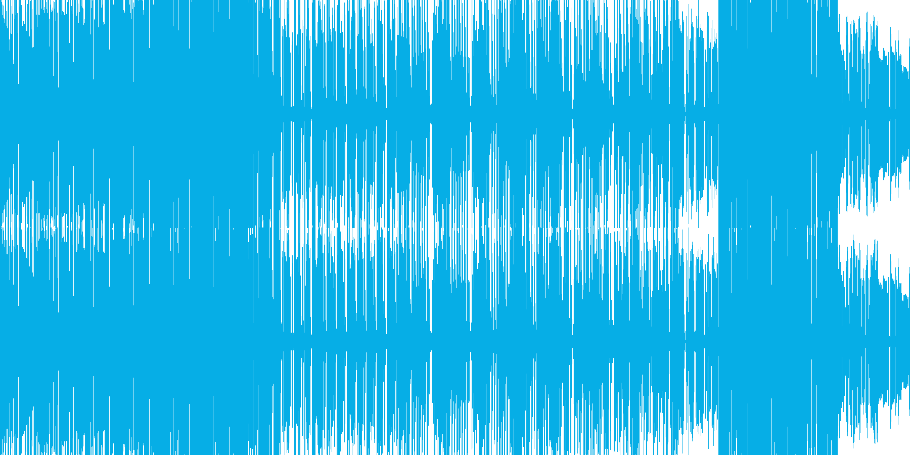 オフビート感の漂うエキゾチックなファンクの再生済みの波形
