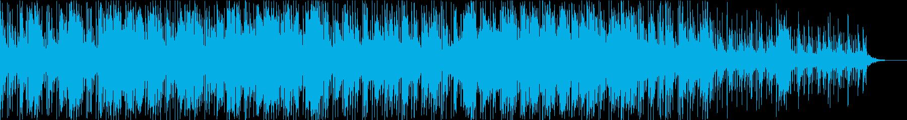 四つ打ちBGM、ポップ、軽やか、可愛いの再生済みの波形