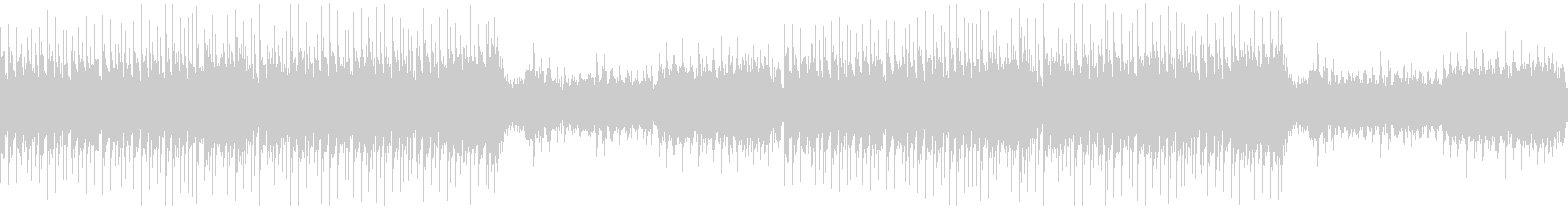 【ループ】尺八/篠笛かっこいい和風EDMの未再生の波形