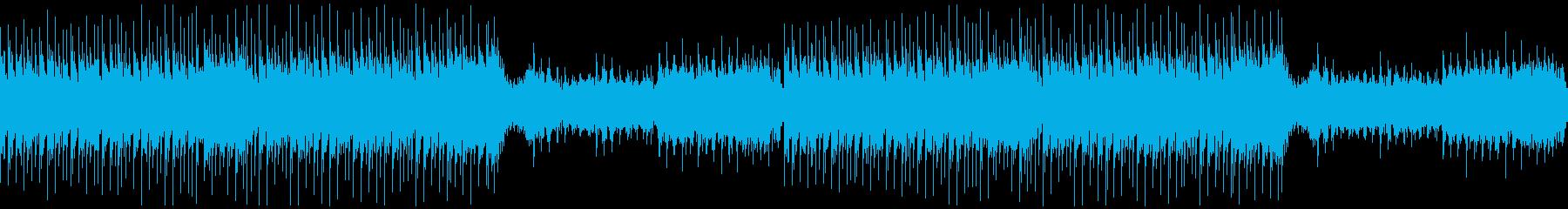 【ループ】尺八/篠笛かっこいい和風EDMの再生済みの波形