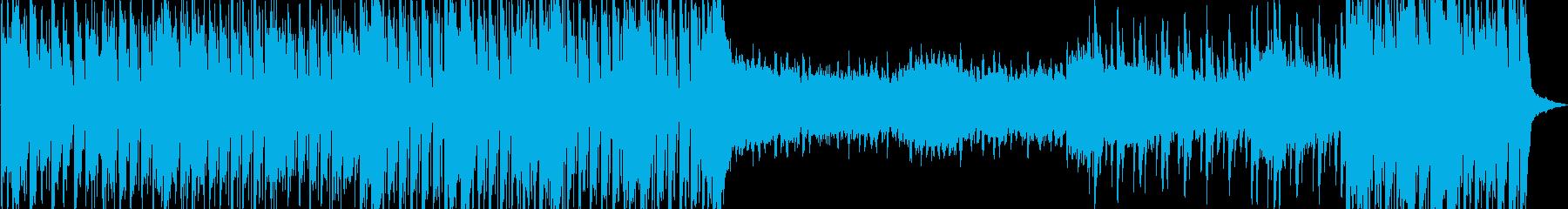 ファンキーでスタイリッシュなサウンドの再生済みの波形