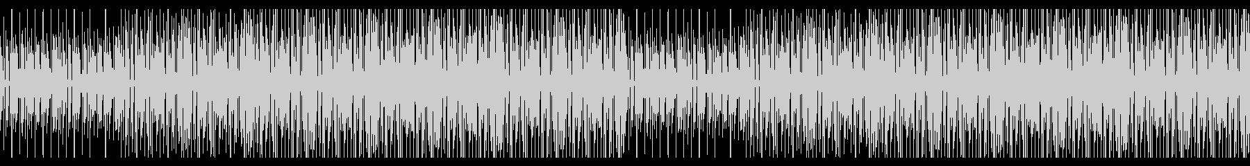 不思議でピコピコ音のゲーム音楽の未再生の波形