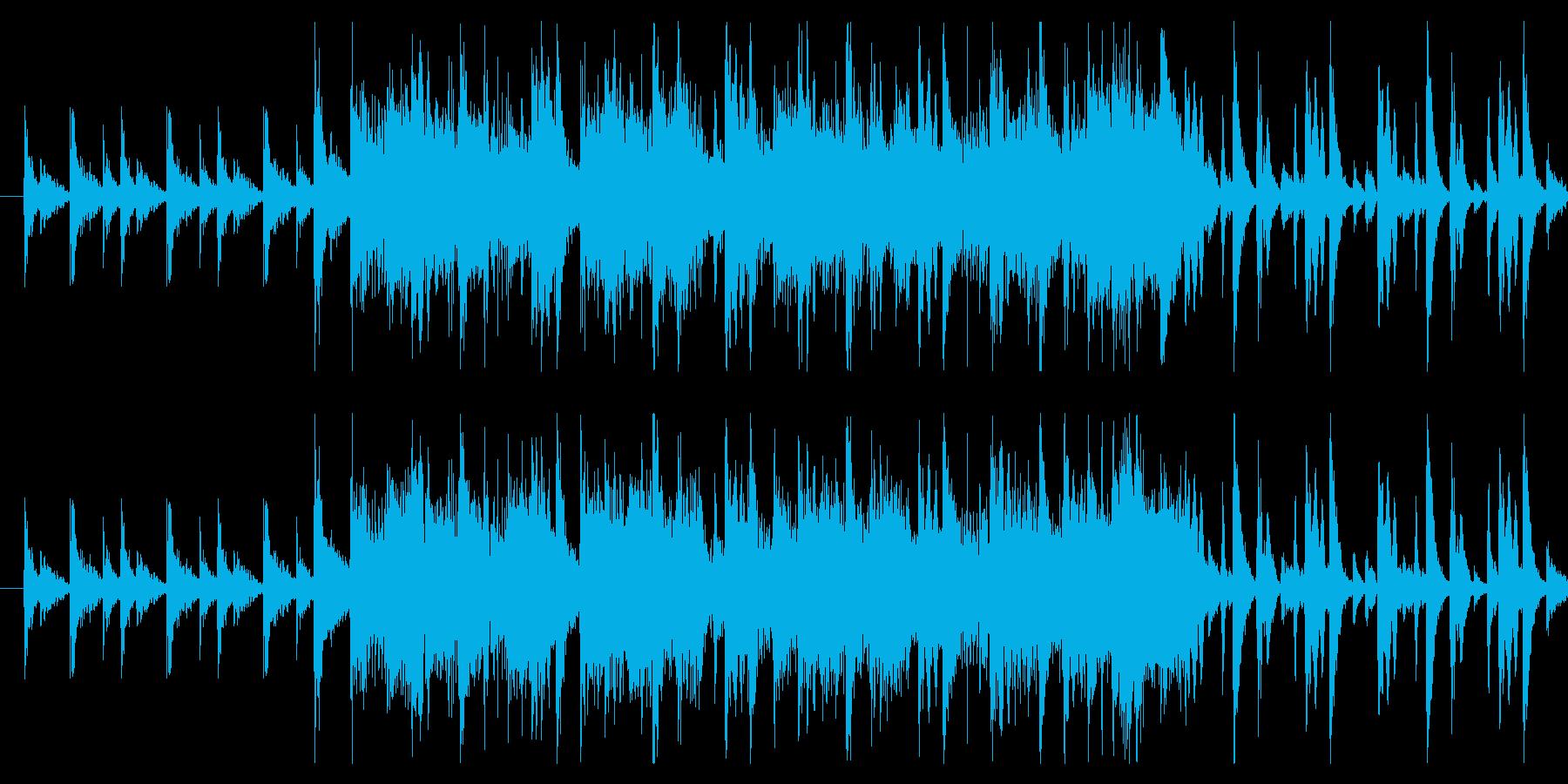 スタイリッシュな「バトル終了/リザルト」の再生済みの波形