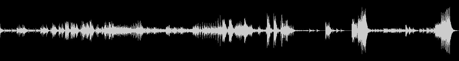 ドラム@ヤナーチェク シンフォニエッタ4の未再生の波形