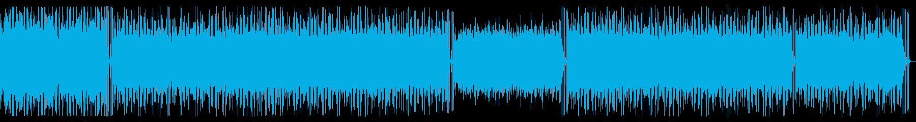チュートリアルに流れていそうなテクノ。の再生済みの波形