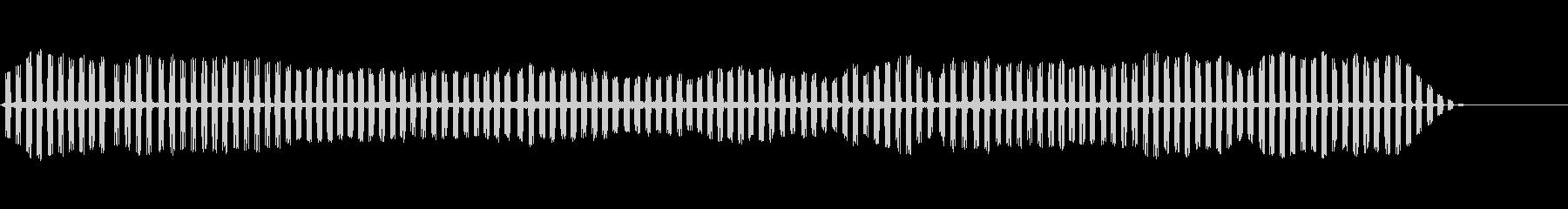 セミクリケット-昆虫2の未再生の波形
