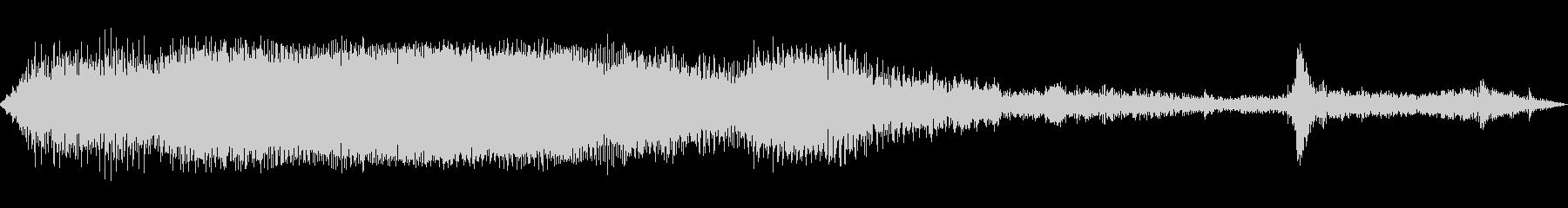 INT:リバース、ストップの未再生の波形