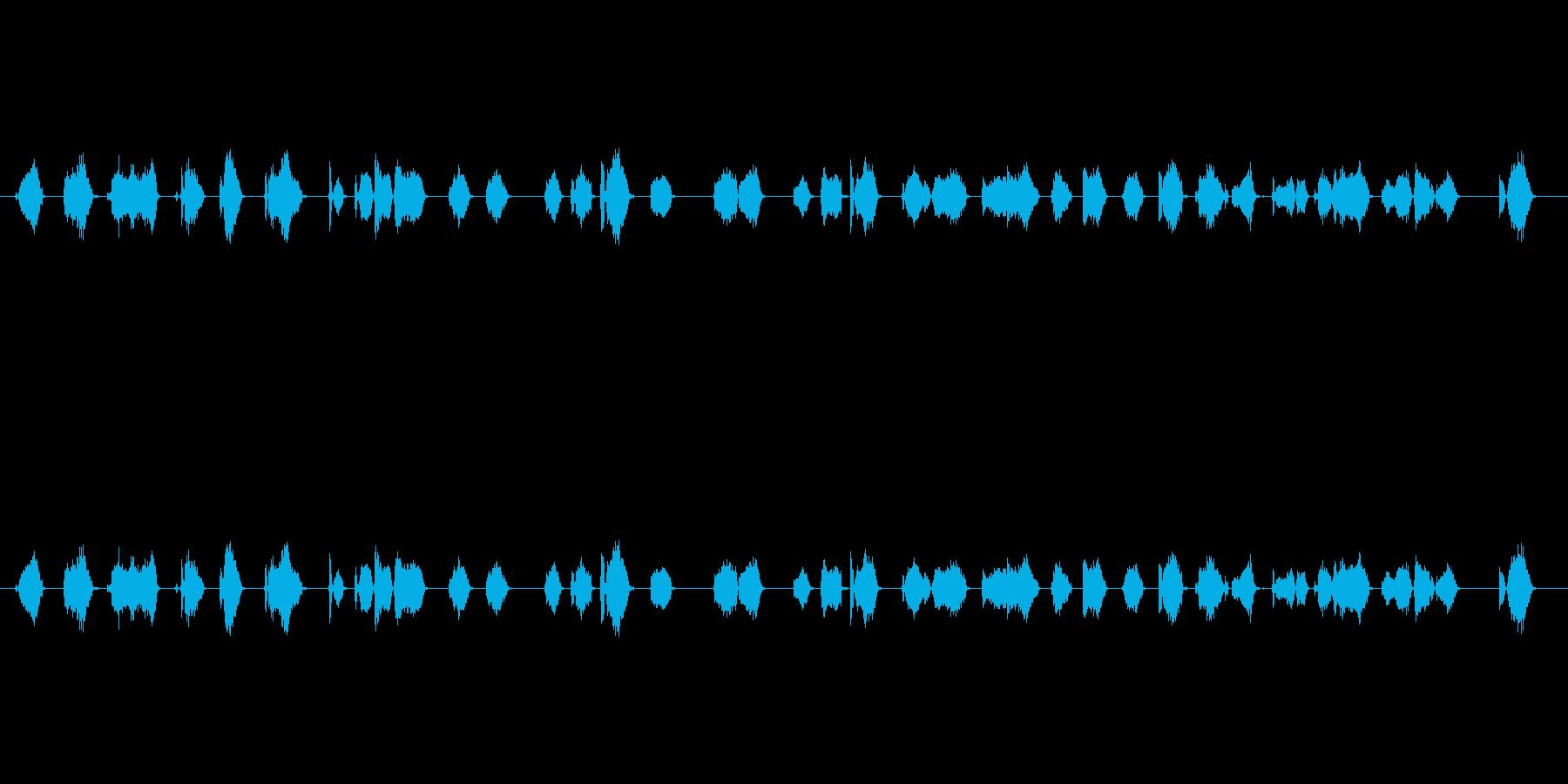 【フェルトペン02-2(書く)】の再生済みの波形