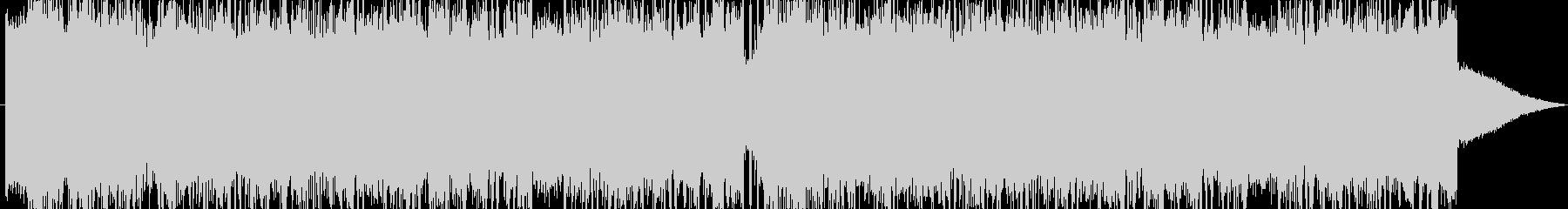 かなりハードなヘヴィメタルの未再生の波形
