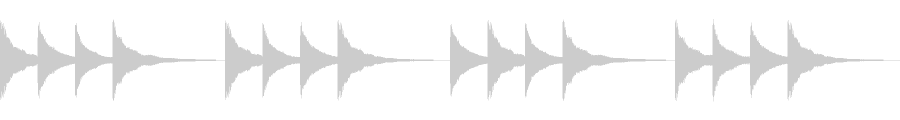 学校の始業・終業チャイム(鐘)の未再生の波形