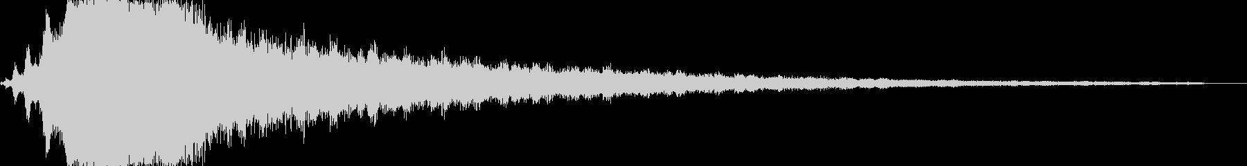 ベリースイープバージョン1の未再生の波形
