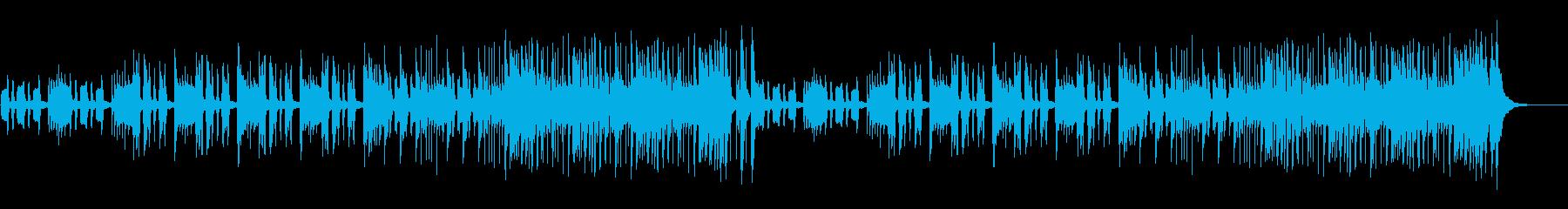 コミカル・ユーモア・ほのぼの日常BGMの再生済みの波形