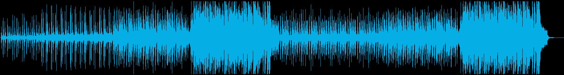 軽やかなトロピカルハウスの再生済みの波形