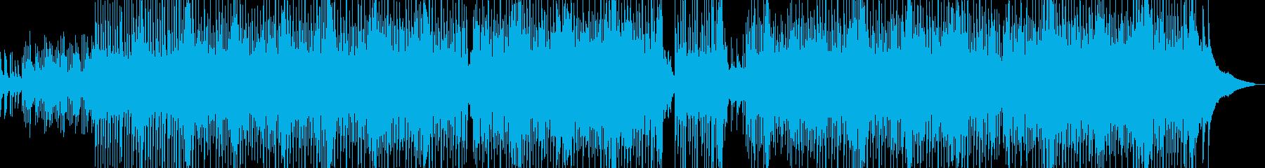 泡風呂・弾けるキュートなハウス 長尺の再生済みの波形