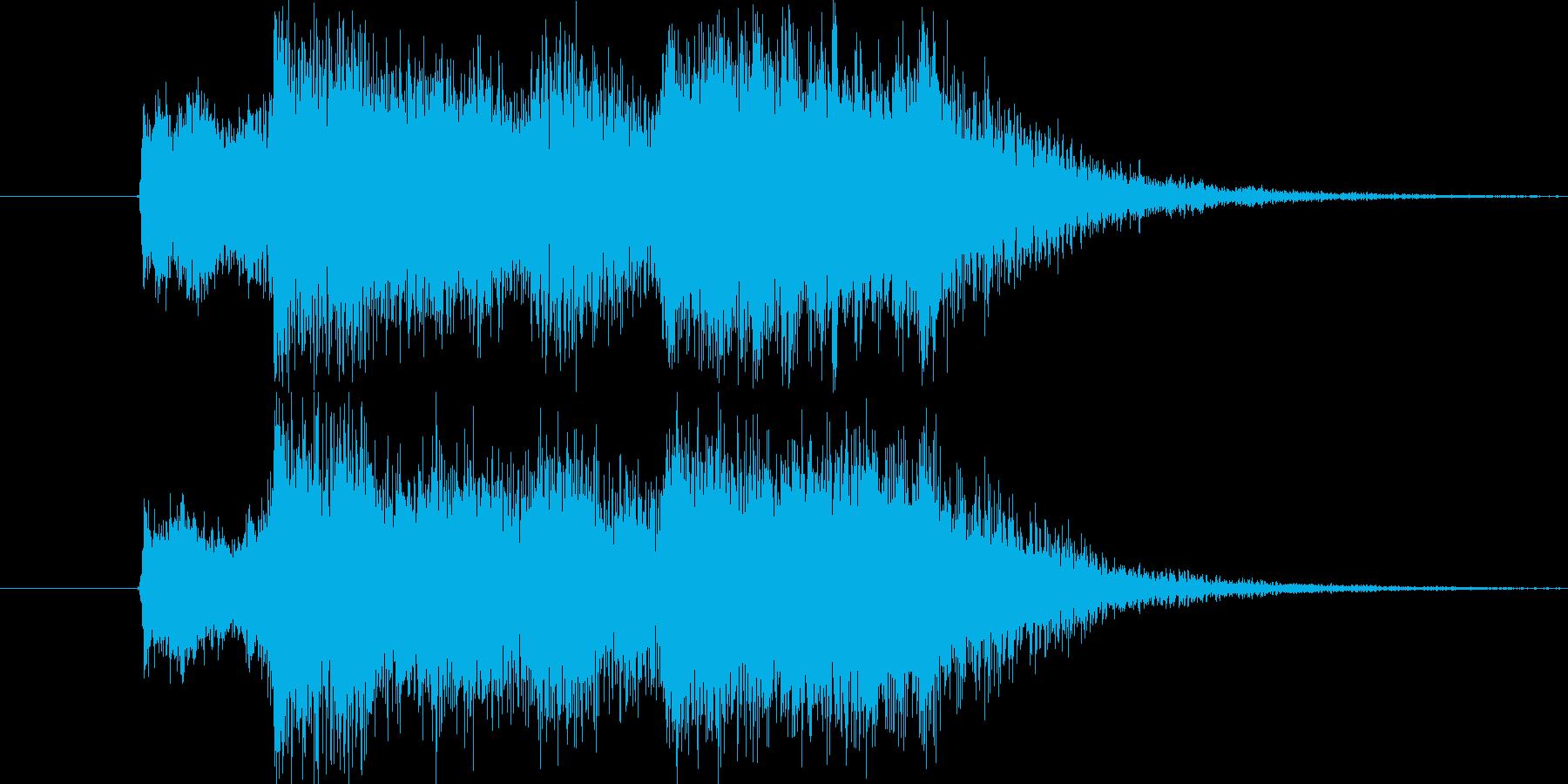 レベルアップSEの再生済みの波形