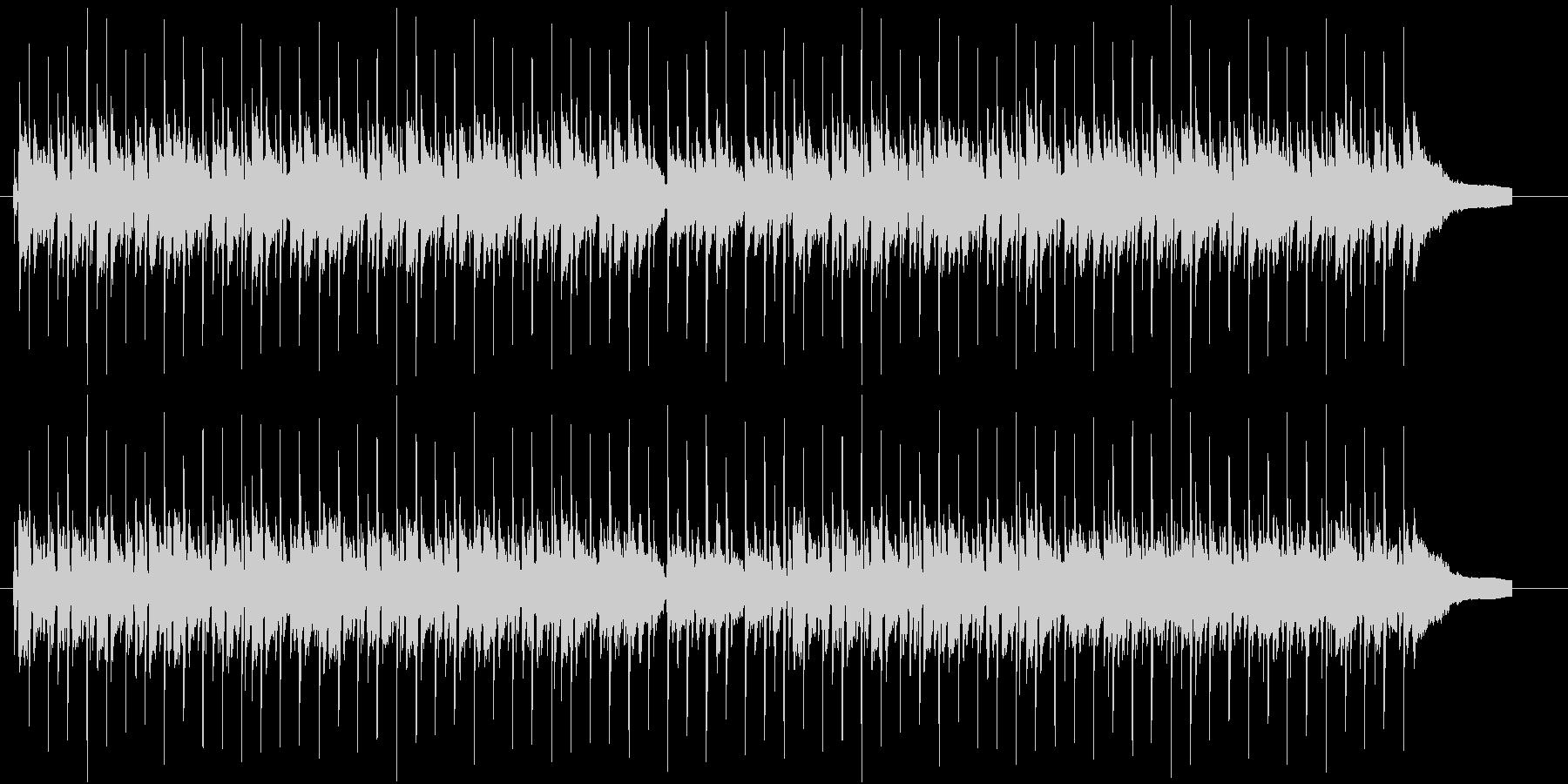 朝に聞くと気持ちいBGMの未再生の波形