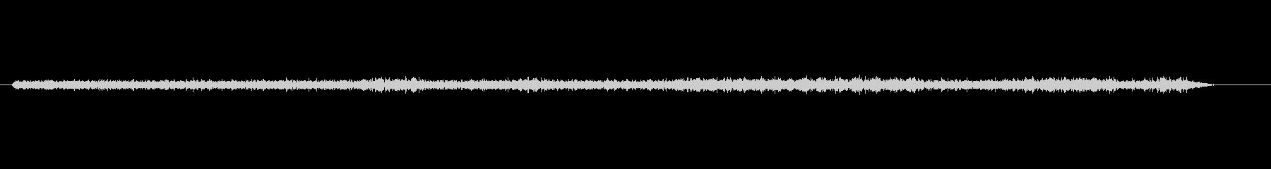 コンピューターコリドータイピング印刷の未再生の波形