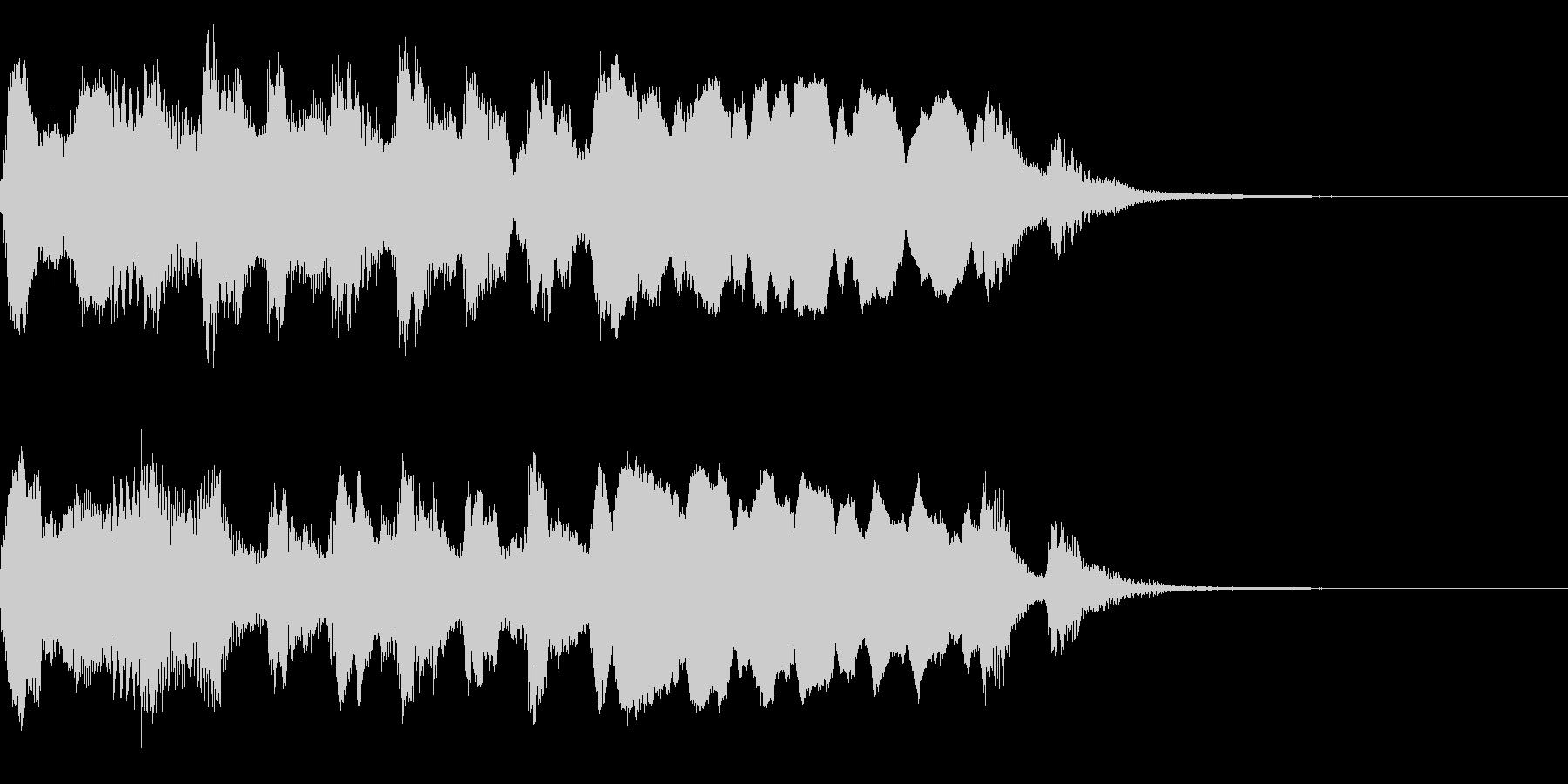 ほのぼのアニメ風アイキャッチ(ワルツ)の未再生の波形