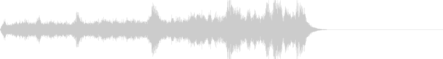 シュイーン(チャージ 場面転換 SF風)の未再生の波形