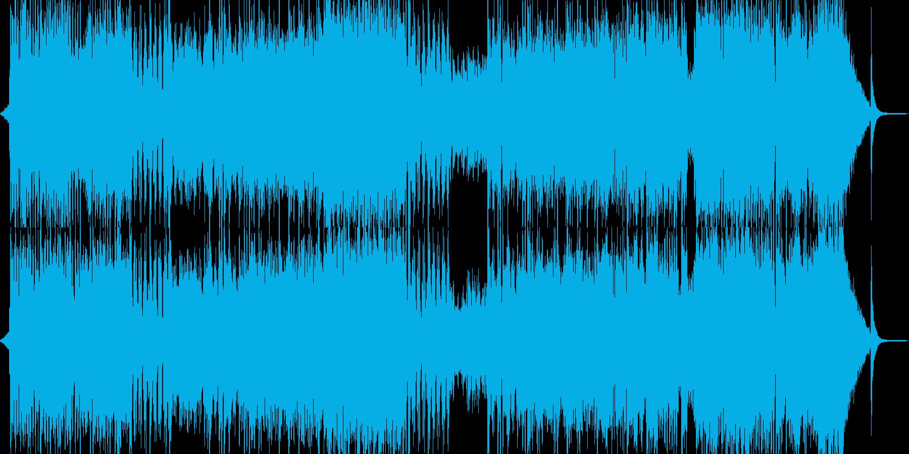 バイタリティー溢れる笑顔のオーケストラの再生済みの波形