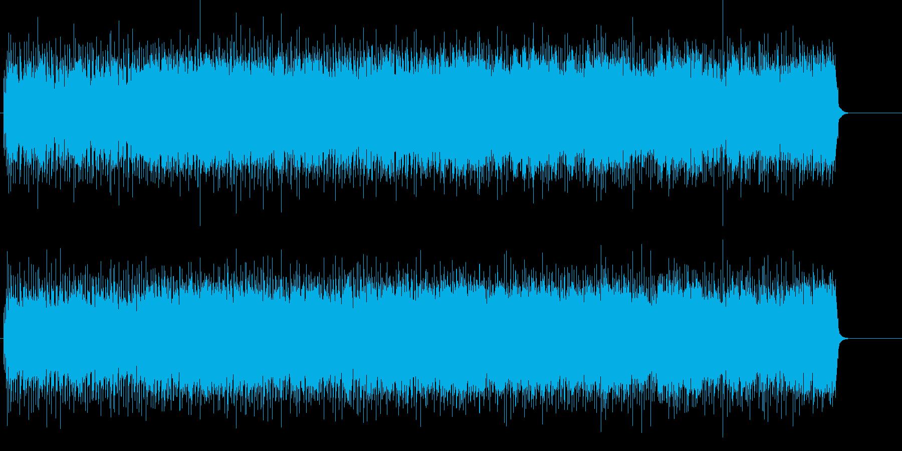 アメリカン・グラフティの軽快なR&Rの再生済みの波形