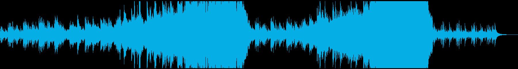 現代の交響曲 アンビエントミュージ...の再生済みの波形