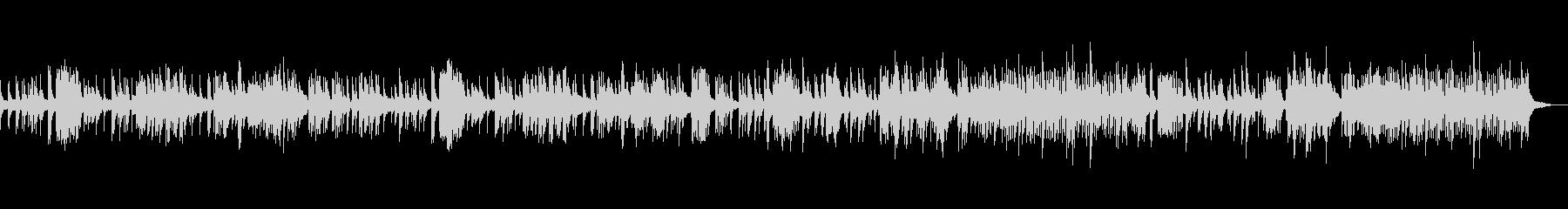 真夜中のゴルトベルク変奏曲 BWV988の未再生の波形