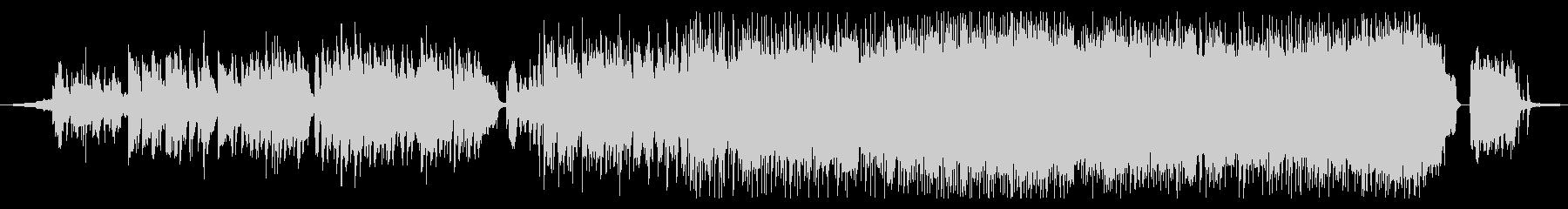 女性ボーカルの定番的ロックバラードの未再生の波形