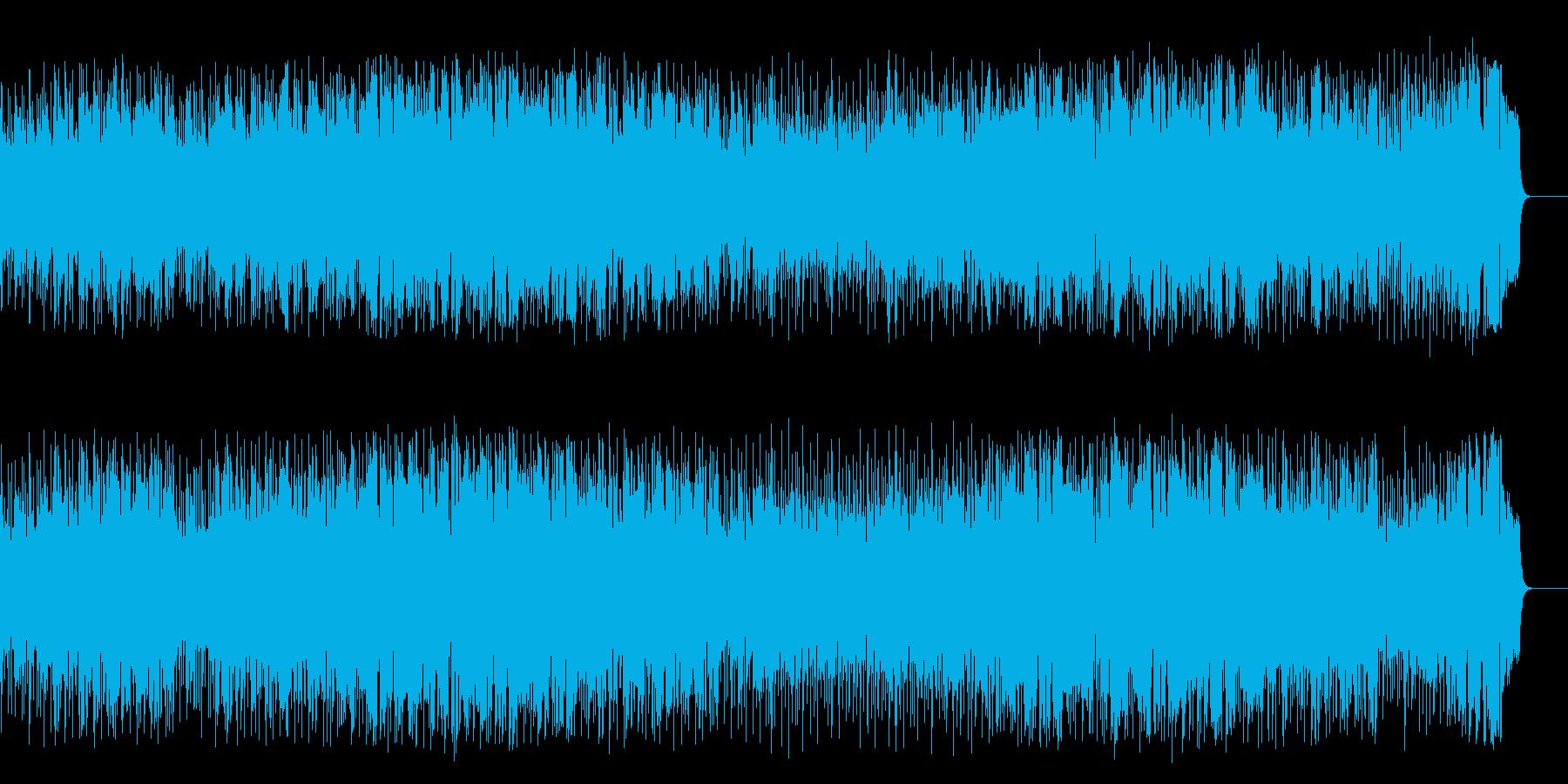 パワーを感じる前向きなポップスの再生済みの波形