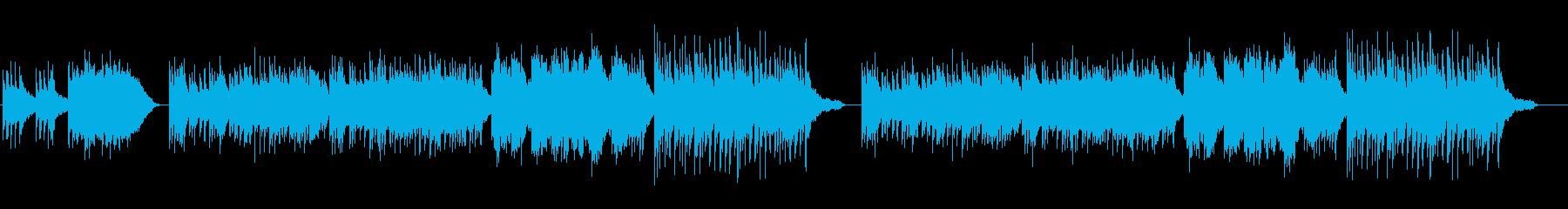 古代遺跡をイメージした曲の再生済みの波形