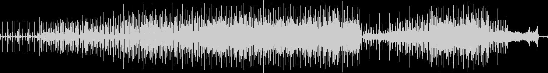 くじら同士の超音波による歌のやりとりの未再生の波形