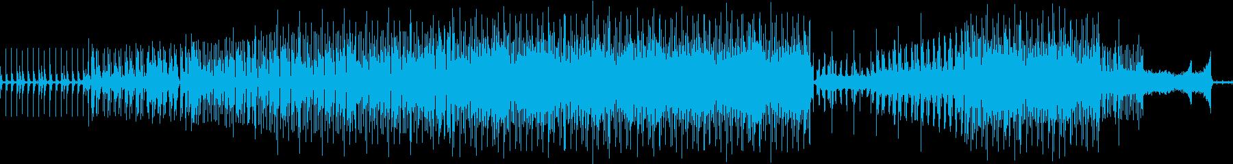 くじら同士の超音波による歌のやりとりの再生済みの波形