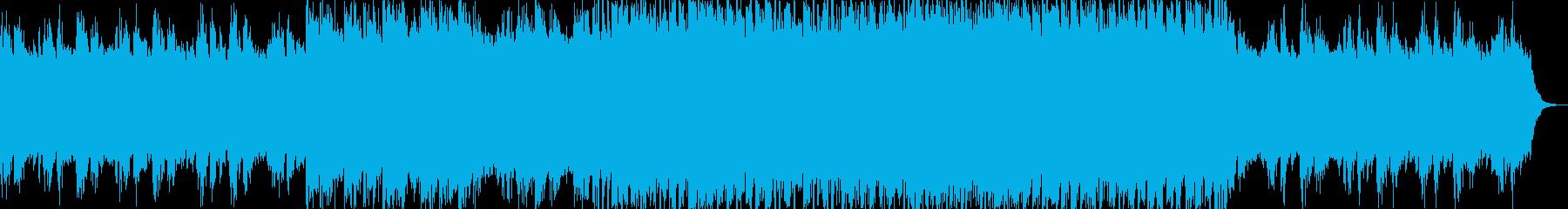 誠実・未来・希望・神々しいコーポレートBの再生済みの波形