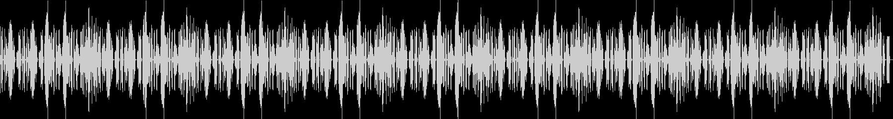 かわいいリコーダーの、のんびりな曲の未再生の波形