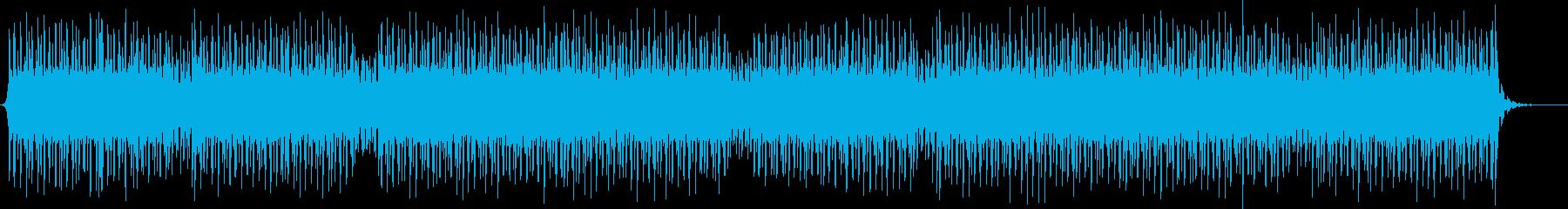 ニュース読みBGM/四つ打ち/ハウス系の再生済みの波形