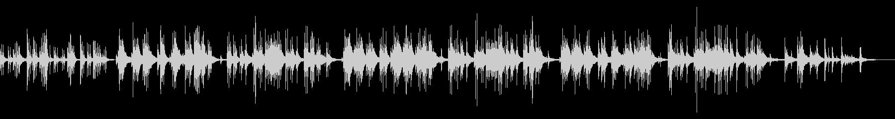 ジングルベル ピアノアレンジの未再生の波形