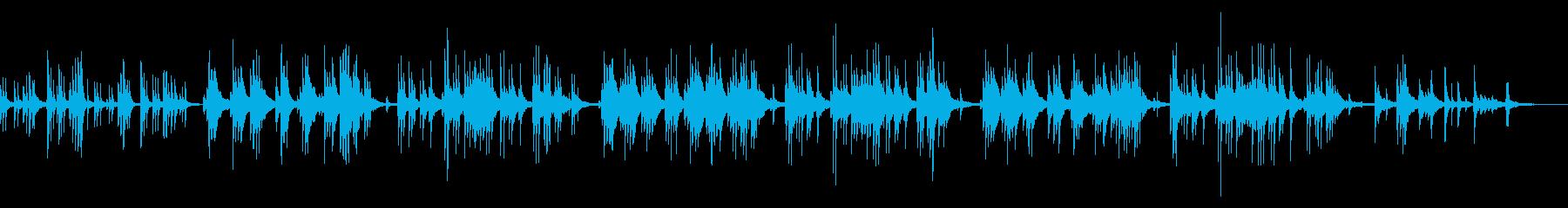 ジングルベル ピアノアレンジの再生済みの波形