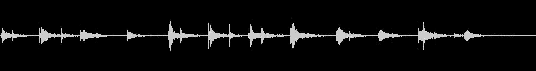 現代の交響曲 室内楽 あたたかい ...の未再生の波形