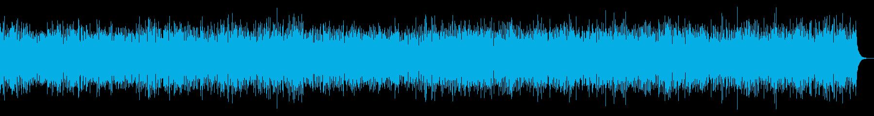 幸せ、笑顔を連想するブルーグラス風BGMの再生済みの波形
