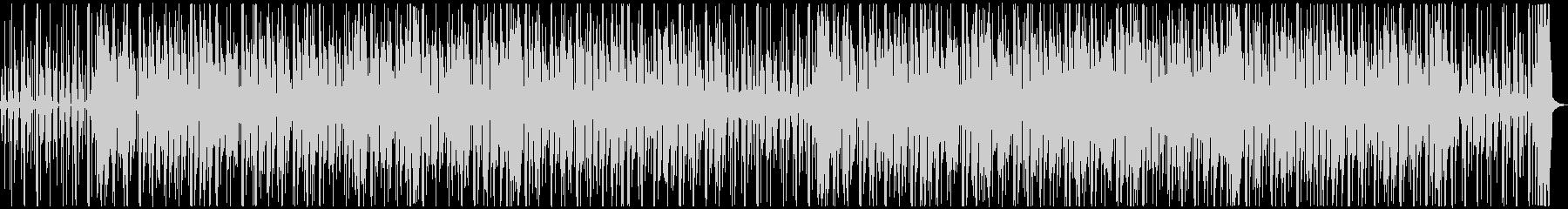 カリビアン風のトロピカルで楽しいBGMの未再生の波形