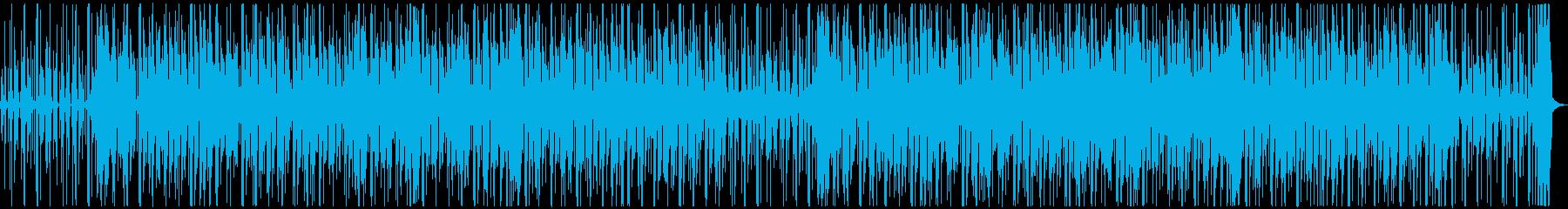 カリビアン風のトロピカルで楽しいBGMの再生済みの波形
