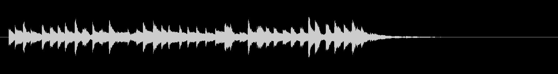 和製ベルの鈴(れい)の清らかな音+FXの未再生の波形