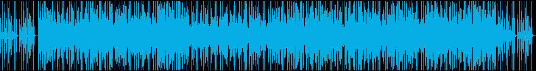 心の中の『何か』を感じるビートの再生済みの波形