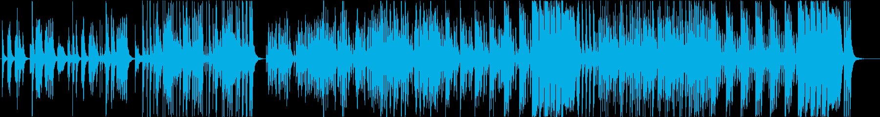 くだけた日常の再生済みの波形
